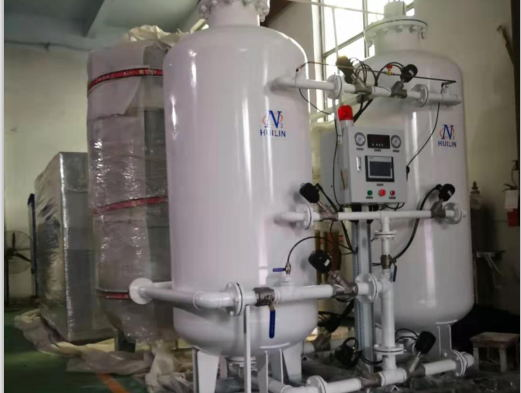 The oxygen generator ordered by Syria is shipped.